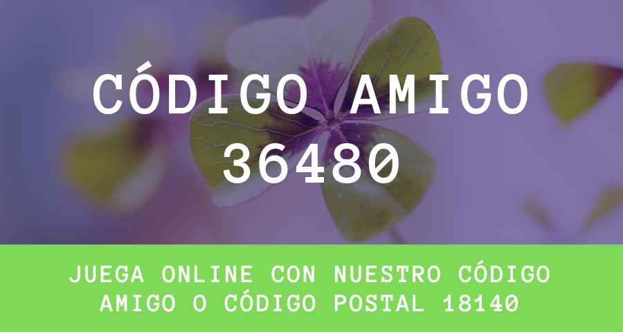 CODIGO AMIGO LOTERIA PRADOS